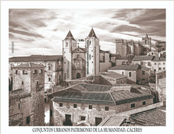 España. Spain. 2021. HB. Conjuntos Urbanos Patrimonio De La Humanidad. Cáceres - 2011-... Nuovi & Linguelle