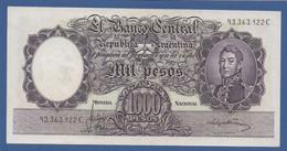 ARGENTINA - P. 279(2) – 1.000 Pesos ND (1966-1969) XF/AUNC - Serie 93.363.122 C - Argentina