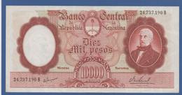 ARGENTINA - P.281(5) – 10.000 Pesos ND (1966-1969) VF/XF - Serie 24.737.190 B - Argentina