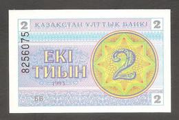 Kazakistan - Banconota Non Circolata FdS Da 2 Tiyin P-2d - 1993 #19 - Kazakhstan