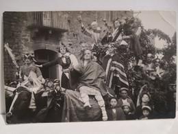 Italy Italia Postcard Sicilia ENNA Borghese Antonino Fotografo. Caro Allegorico O Festa Paesana. Non Spedita - Enna