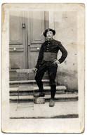 Carte Photo  --  Chasseur Alpin - War 1914-18