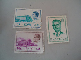 IRAN    MLN  AND USED STAMPS  KINGS - Iran