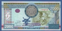 BURUNDI - P.47 – 2.000 Francs01.12.2008 UNC Serie T868049 - Burundi