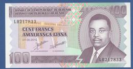 BURUNDI - P.44a – 100 Francs01.05.2010 UNC Serie LH - Burundi