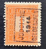 PRE 2293A JODOIGNE 1914 GELDENAKEN - Rollo De Sellos 1910-19