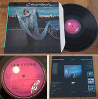 "RARE French LP 33t RPM (12"") CHRISTOPHE (1979) - Rock"