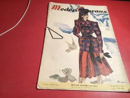 Modes Et  Travaux 1943  En L état - Fashion