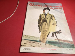 Modes Et  Travaux De Paris  1947 En L état - Fashion