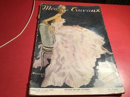Modes Et  Travaux De Paris  1948 En L état Création Christian Dior - Fashion