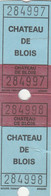 BIGLIETTO CHATEAU DE BLOIS (MF1683 - Tickets - Vouchers