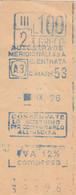 BIGLIETTO AUTOSTRADE MERIDIONALI 1976 (MF1755 - Tickets - Vouchers