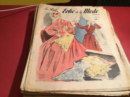 Le Petit écho De La Mode Magazine De Mode  Paris 1948 Sans Le Patron Paris - Fashion