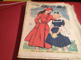 Le Petit écho De La Mode Magazine De Mode  Paris 1949  Sans Le Patron Paris - Fashion