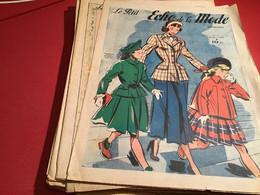 Le Petit écho De La Mode Magazine De Mode  Paris 1949  Sans Le Patron Paris Que La Pages Que Vous Voyez Effectivement U - Fashion
