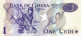 GHANA P. 13c 1 C 1976 UNC - Ghana