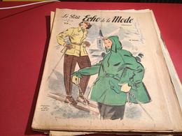 Le Petit écho De La Mode Magazine De Mode  Paris 1949  Sans Le Patron Paris Ski Skieuse - Fashion