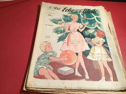 Le Petit écho De La Mode Magazine De Mode  Paris 1949  Sans Le Patron Paris Noël - Fashion