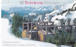 GERMANY(chip) - Telekom München(A 03), Tirage 45000, 02/94, Mint - Landscapes