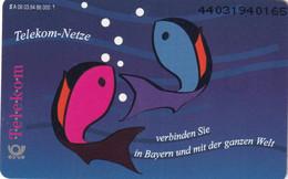 GERMANY(chip) - Fish, Telekom Netzen(A 06), Tirage 86000, 03/94, Mint - Pesci