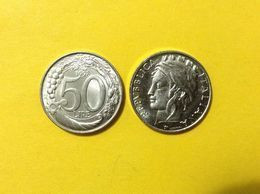 ITALIA MONETA COIN FDC UNC DA ROTOLINO ZECCA 50 LIRE TURRITA 1998 - 50 Lire