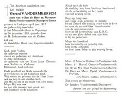 Gerard Vandermeersch (1912-1988) - Andachtsbilder