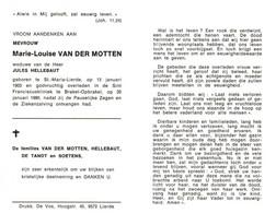 Marie Louise Van Der Motten (1903-1980) - Andachtsbilder