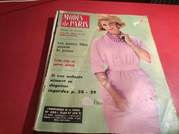 REVUE MODES DE PARIS 13em Annee - MODE FEMME -PUB En L état Sans Supplément Mode De Paris - Fashion
