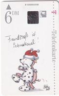 GERMANY - Christmas, Painting, Bärbel Haas/Freundschaft Ist International(A 29), Tirage 25000, 09/95, Mint - Natale