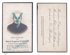 Honville Hollange, Etterbeek, Mémento De Marie-Eugénie Dumont, Veuve Nicolas Boulanger, 26/03/1923, 77 Ans, Décès - Andachtsbilder