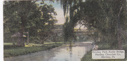 Pennsylvania Hershey Rustic Bridge In Hershey Park Hershey Chocolate Company - Other