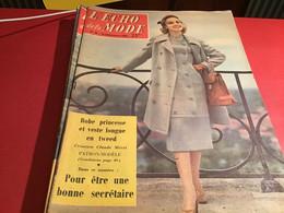 Le Petit écho De La Mode Magazine De Mode  Paris 1956   Sans Le Patron Paris - Fashion
