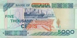 GHANA P. 34i 5000 C 2003 UNC - Ghana