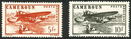 Cameroun Cameroon 1943 Hydravions Seaplanes Sikorsky S-43 Baby Clipper  (YT PA 25) - Aviones