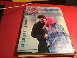 Echo De La Mode D'actualité Programme Radio TV Blanc 1965  Les Indien - Fashion