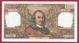 """France 100 Francs """"Corneille"""" Du 04/01/1968.O---ALPH.O.302--- Dans L 'état ---(PP---20) - 100 F 1964-1979 ''Corneille''"""
