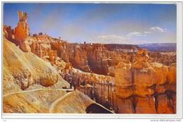 UTAH - Switchbacks On Navajo Trail BRYCE CANYON National Park ROCKS - Bryce Canyon