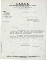 1948 / Facture SIBEL Sté Exploitation Bois De L'Est Et Des Landes / Valentigney, Mandeure, St-Hippolyte / 25 Doubs - 1900 – 1949