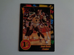 Card Basketball Basquetebol José Ortiz - Center - Altri