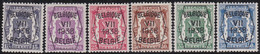 Belgie   .  OBP  .    PRE 369/374      .   **  .   Postfris . / .  Neuf Avec Gomme Et Sans Charnière - Typo Precancels 1936-51 (Small Seal Of The State)