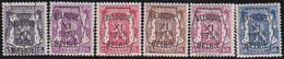 Belgie   .  OBP  .    PRE 393/398     .   **  .   Postfris . / .  Neuf Avec Gomme Et Sans Charnière - Typos 1936-51 (Petit Sceau)