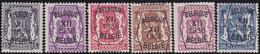 Belgie   .  OBP  .    PRE 399/404     .   **  .   Postfris . / .  Neuf Avec Gomme Et Sans Charnière - Typos 1936-51 (Petit Sceau)