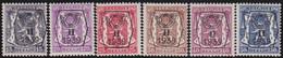 Belgie   .  OBP  .    PRE 411/416    .   **  .   Postfris . / .  Neuf Avec Gomme Et Sans Charnière - Typos 1936-51 (Petit Sceau)