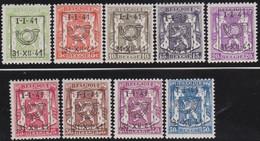 Belgie   .  OBP  .    PRE 455/465  (2 Scans)  .   **  .   Postfris . / .  Neuf Avec Gomme Et Sans Charnière - Typos 1936-51 (Petit Sceau)