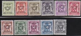 Belgie   .  OBP  .    PRE 464/474  (2 Scans)  .   **  .   Postfris . / .  Neuf Avec Gomme Et Sans Charnière - Typos 1936-51 (Petit Sceau)