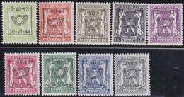 Belgie   .  OBP  .    PRE 502/510  .   **  .   Postfris . / .  Neuf Avec Gomme Et Sans Charnière - Typos 1936-51 (Petit Sceau)