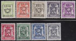 Belgie   .  OBP  .    PRE 511/519    .   **  .   Postfris . / .  Neuf Avec Gomme Et Sans Charnière - Typos 1936-51 (Petit Sceau)