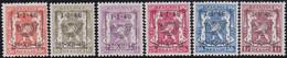 Belgie   .  OBP  .    PRE 547/552    .   **  .   Postfris . / .  Neuf Avec Gomme Et Sans Charnière - Typos 1936-51 (Petit Sceau)