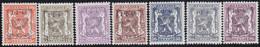 Belgie   .  OBP  .    PRE 574/580   .   **  .   Postfris . / .  Neuf Avec Gomme Et Sans Charnière - Typos 1936-51 (Petit Sceau)