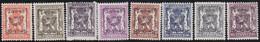 Belgie   .  OBP  .    PRE 581/588   .   **  .   Postfris . / .  Neuf Avec Gomme Et Sans Charnière - Typos 1936-51 (Petit Sceau)